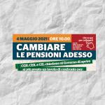 """""""Cambiare le pensioni adesso"""". Il Webinar di Uil Cisl Cgil. Scarica il materiale."""