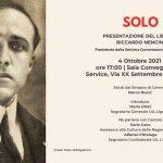 """""""SOLO"""", presentazione del romanzo del senatore Riccardo Nencini su Giacomo Matteotti,"""